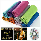 Ice Instant Cooling Towel Sports Workout Fitness Gym Yoga Hiking Pilates image