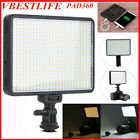 VBESTLIFE PAD360 LED Camera Video Light LED Dimmable Panel for Canon Nikon Cam