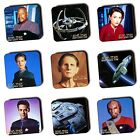 Star Trek Deep Space Nine DSN - Characters - Ships - Coasters - Wood - Multi-Buy on eBay