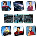 Star Trek Voyager Characters - Ships - Art - Sci-Fi - Coasters - Wood - 4 FOR 3 on eBay