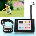 Dog Shock Training Collar 2 In 1 Wireless Electronic Fence System Rechargeable