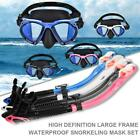 Snorkeling Set Full-dry Diving Mask Breath Tube Swimming Equipment for Adults