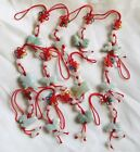 Chinese Zodiac Butterfly Knot Jade Cell Phone Charm Strap