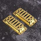 2PCS Electric Guitar Humbucker Pickup Covers Anti-Scratch Protector 3Color