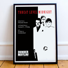 The Office Movie Poster - Threat Level Midnight - The Office TV Show (Unframed)