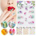 5D Self-Adhesive Nail Art Decoration Sticker Flower Series DIY Manicure Decals