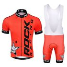 Pro Summer Rock racing Cycling Jersey Set Mountain Bike Clothing MTB Bicycle