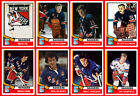 NEW YORK RANGERS 1974-75 High Grade Hockey Card Style PHOTO CARDS U-Pick THICK $1.71 USD on eBay