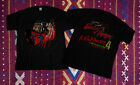 RARE!Vintage 80s 1988 freddy krueger a nightmare on elm street 4 t-shirt Reprint image