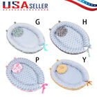 Baby Infant Bassinet Lounger Crib Breathable Sleep Nest With Pillow Portable Bed