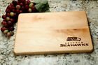 "Seattle Seahawks Cutting Board! 9""x12"" or 10.5""x16"" Cherry or Maple Wood on eBay"
