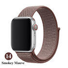 Woven Nylon Band For Apple Watch Sport Loop iWatch Series 4/3/2/1 38/42/40/44mmWristwatch Bands - 98624