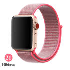 Купить Woven Nylon Band For Apple Watch Sport Loop iWatch Series 4/3/2/1 38/42/40/44mm