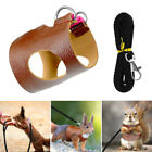 Kyпить Hamster Harness Leather Leash Rat Squirrel Vest Outdoor Lead Vest Pet Supplies на еВаy.соm