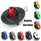 Motorcycle Tank Fuel Gas Cap Oil Keyless Aluminium For Honda CBR1100 All Years