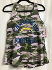 Los Angeles Chargers Military Tank Top Shirt Teen Size $9.2 USD on eBay