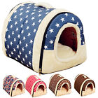 Modern Pet Dog Cat Portable House Puppy Detachable Kennel Nest Bed Warm Cushion