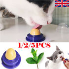 5Pcs Cat Snack Catnip Sugar Candy Licking Solid Nutrition Energy Ball Pet Toy C