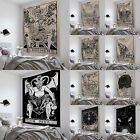 Tarot Tapestry Sun Divination Wall Hanging Mysterious Bedroom Home Decoration Au