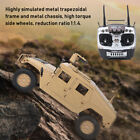 HG P408 Upgraded 1/10 4WD 16CH 30km/h Military Rc Model Car Simulation Vehicle