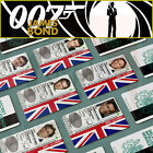 James Bond 007 MI6 Secret Agent ID Card, Daniel Craig, Roger Moore, Sean Connery $10.78 USD on eBay