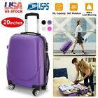 "Внешний вид - 20"" Carry on Travel Luggage Lightweight Rolling Spinner Hard Shell Portable New"