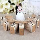 100x Vintage Mini Suitcase Sweet Cake Candy Box Party Wedding Favors Gift Boxes