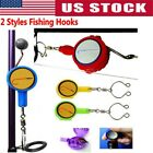 Fishing Tool Quick Knot Fast Tie Nail Knotter Line Cutter Sharpener Hook Kit New