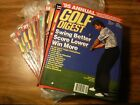 GOLF DIGEST 1995 12 issues (unopened & like-new) Teams/Schools/Collectors