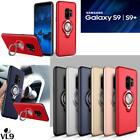 Luxury Magnetic Case Cover With  Ring Holder Buckle For Samsung Galaxy S8 Plus