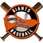 San Francisco Giants vinyl sticker for skateboard luggage laptop tumblers car on Ebay