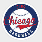 Chicago Cubs sticker for skateboard luggage laptop tumblers car(b) on Ebay