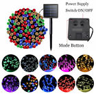 200 LED Solar Fairy Lights Outdoor Waterproof String Light Xmas Party Decor Lamp