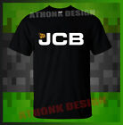 FAN T-SHIRT NEW CATERPILLAR JCB T-SHIRT