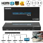 HDMI Splitter 18Gbps 1X4 1 In 4 Out Output HD 4K Switch Splitter Audio Extractor