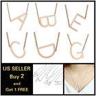 26 Capital Initial Letters Necklace Chain Pendant Love Bridesmaid Jewelry