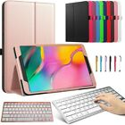 """For Samsung Galaxy Tab A 10.1"""" 2019 T510 T515 Tablet Keyboard Leather Case Cover"""