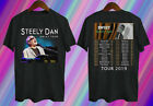 RARE Steely Dan t Shirt Sweet Tour Dates 2019 T-Shirt Men Black 2 side Gildan image