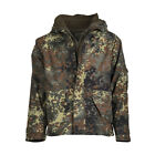 Mil-Tec Flecktarn Camo Trilam Wet Weather Jacket w/Fleece Liner