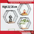 21/26 cm Wall Mounted Metal Wire Rack Basket Hexagon Storage Organizer Home