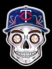 MINNESOTA TWINS Sugar Skull Vinyl Sticker Decal Weather Resistant Unique on Ebay