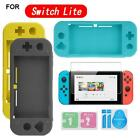 For Nintendo Switch Lite Silica Gel Protective Case Cover Screen Protector