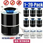 Electric Fly Bug Zapper Mosquito Insect Killer Pest Control LED Light Tra