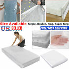 HEAVY DUTY MATTRESS STORAGE BAG COVER DUST PROTECTOR SINGLE DOUBLE SUPER KING UK