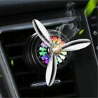 1 Pc Car Air Freshener Mini LED Conditioning Alloy Auto Vent Outlet Perfume Clip