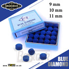 Blue Diamond Leather Snooker / Pool Cue Tips 9mm 10m 11mm £23.0 GBP on eBay