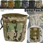 US Tactical Magazine Dump Drop Pouch Recycling Bag Molle Storage Drawstring Bag