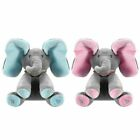 Peek-A-Boo Elephant Stuffed Plush Toy Animated Talking Singing Elephant Kid Doll