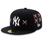 Spike Lee x New York Yankees Championship Crossed Bat Navy 59Fifty Fitted Cap on Ebay