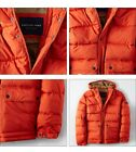 NWT American Eagle AE Men's Hooded Heavy Down Puffer Jacket 2 Colors Sz S M L XL